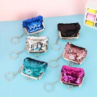 Kids Gift Clutch Handy Purse Hasp Mini Wallet Card Holder Sequins Coin Purse