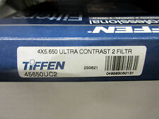 """New Tiffen 4x5.65"""" Ultra Contrast 2 Filter Panavision Size 45650UC2"""