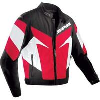 Spidi Trackster Men's Racing Armored Motorcycle Jacket RED 2XL