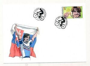D148908 Slovakia FDC Cycling Peter Sagan