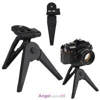 New Mini Portable Folding Tripod Stand Hand Grip for 1/4 SLR Sports Camera #A
