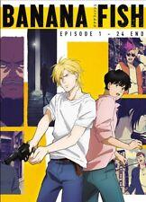 DVD Japan Anime Banana Fish Complete Series (1-24) English Subtitle All Region