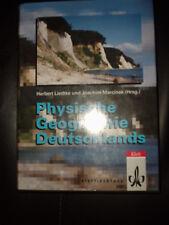 Physische Geographie Deutschlands Liedtke Marcinek