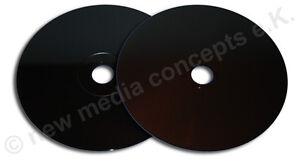 CD Rohlinge 700 MB/80 min Carbon  beidseitg schwarz zum archivieren 50 Stück