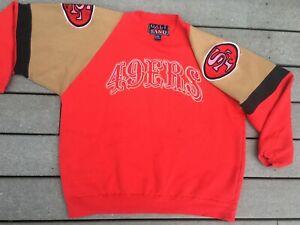Vtg RARE San Francisco 49ers SWEATSHIRT Galt Sand 90s starter jersey XL 2XL