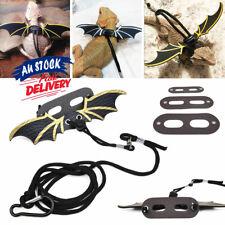 Lizard Harness Bearded Adjustable Dragon+Cool Leather Wings Reptile Leash
