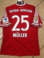 00794ca5e Germany FC bayern Munich Shirt Thomas Muller MD Trikot jersey Fifa Club  Patch