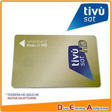 SMART CARD TIVUSAT ORO HD