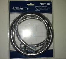 Aquasource Chrome Hose Standard Hand-Held Hoses Stainless Steel Construction