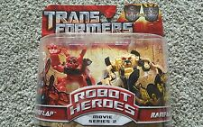 Transformers Revenge Of The Fallen- Movie Series 2 Mudflap & Rampage