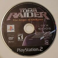 Tomb Raider The Angel of Darkness PS2 Disc Only Tested Sony PlayStation 2