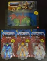 🔥 MOTU ORIGINS LOT HE-MAN SKELETOR BATTLE CAT TEELA MOC MASTERS OF THE UNIVERSE