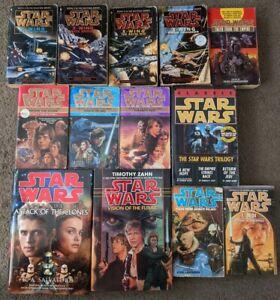 STAR WARS Vintage Novels Books x 13 Bulk Collectors Lot