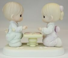 """Precious Moments """"Let's put the Pieces Together"""" Figurine   1997   USED"""