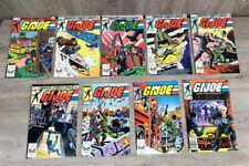 1983 Vintage Lot of (9) GI Joe Comic Books  #10,11,12,13,14,15,16,17,18 (1288)