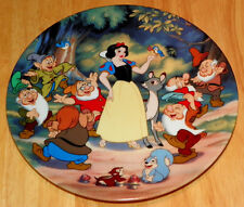 Disney Collector Plate Knowles/Bradford Snow White Treasured Moments Series