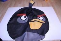 Youth Angry Birds OSFM Halloween Costume (Black) PMG