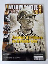 """Magazine Heimdal Normandie 1944 N°13 """"Combat d'artilleurs de la Panzer-Lehr"""""""