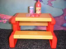 Little Tikes Dollhouse Picnic Table Food Lot fits Fisher Price Loving Family Dol