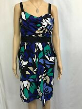 JACQUI.E SIZE 14  PATTERNED CASUAL COTTON DRESS