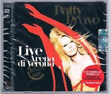 PATTY PRAVO  LIVE ARENA DI VERONA - 2 CD F.C. SIGILLATO!!!