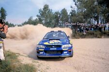Kenneth Eriksson Subaru Impreza WRC 97 Portugal Rally 1997 Photograph 1