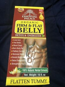 ORGANIC FIRM & FLAT BELLY DETOX ENERGIZER 16 oz - FREE SHIPPING