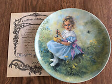 "The Bradford Exchange Plate – Mother Goose series (1981) - ""Little Miss Muffet�"