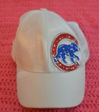 New Era Fits Chicago Cubs White Sequence Womens Baseball Cap
