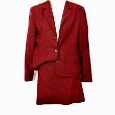 Vtg 60s Herringbone Mod Skirt Set Checker Print Go Go Skirt Suit 8 Michael Kors