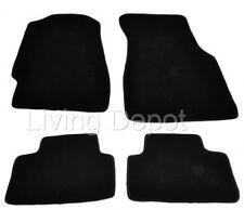 Fit For 92-95 HONDA CIVIC Floor Mats Carpet Front & Rear Nylon Black