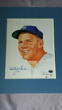 WHITEY FORD 8 x 10 Living Legends print - SIGNED & MATTED