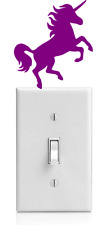 UNICORN LIGHT SWITCH STICKER,HORSE GIRL/WOMEN Window Sticker/Decal Funny