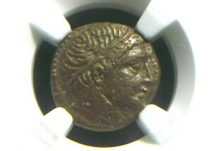 Alexander III The Great, Half-Unit 336-323 BC, Lifetime issue  NGC XF 5048