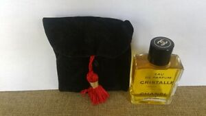 Cristalle Chanel 1 oz./ 30 ML Eau de Parfum Vintage-New Dab-On- in Black Velvet
