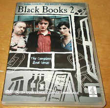 BLACK BOOKS SERIES 2 VGC BILL BAILEY DYLAN MORAN REGION 4