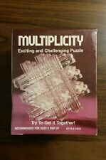 Vintage 1982 Multiplicity Brain Teaser Puzzle Paragon-Reiss NEW FACTORY SEALED!