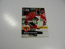 Wayne Presley 1991 NHL Pro Set (French) card #44