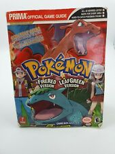Pokemon Fire Red And Leaf Green Prima Official Game Strategy Guide - Nintendo.