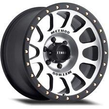 "Method Wheels MR30578580300 MR305 NV Series 8 x 6.5"" Bolt Pattern"