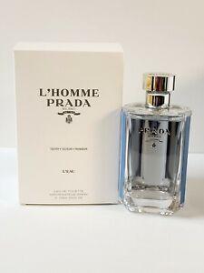 L'Homme Prada Milano L'EAU 3.4oz Men's Eau de Toilette Spray Tester .