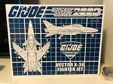 GI Joe Exclusive 2017 Vector X-36 Fighter Jet Force of Battle 2000 SEALED NEW