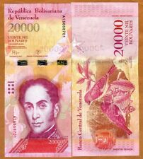 Venezuela 20000 (20,000) Bolivares, 18-8-2016, P-New, A-Prefix, Wide S/S, UNC