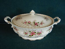 """Royal Albert Lavender Rose 9"""" Round Covered Serving Bowl with Lid"""