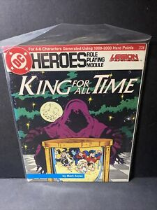DC HEROES ROLE PLAYING MODULE GAMEBOOKS #226 KING FOR ALL TIME LEGION LOSH