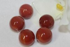 20mm Natural Agate Round Beads 5 Pieces Set
