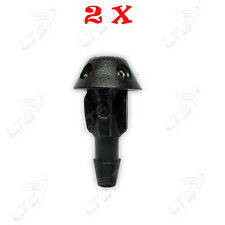 PEUGEOT 106 206 306 506 FRONT WINDSCREEN WASHER JETS NOZZLE WIPER SPRAY 2 pieces