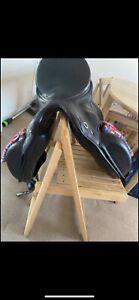 Kieffer Dressage Saddle 17 inch black