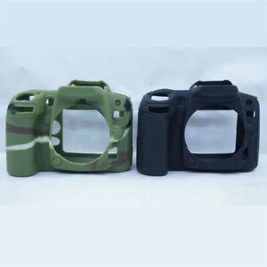 Camera Soft Rubber Bag For Nikon D90 Silicone Case Protector Cover