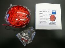 WIPAC Land Rover Defender NAS style LED Fog Lamp Red - 95mm S6079LED
